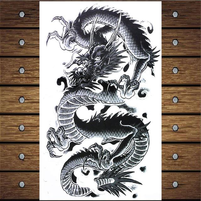 Крутые картинки тату китайский дракон (19)