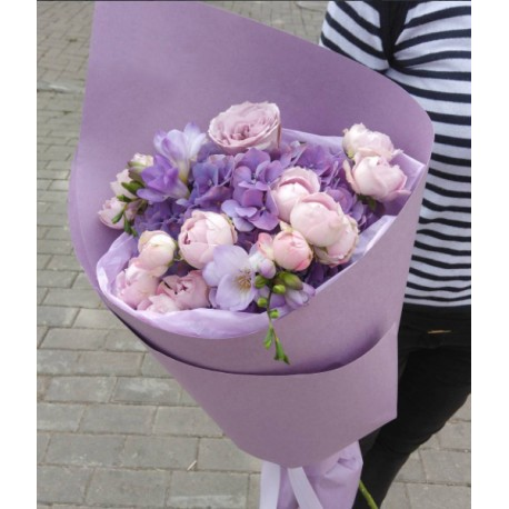 Лучшие букеты из роз на 1 сентября фото (11)