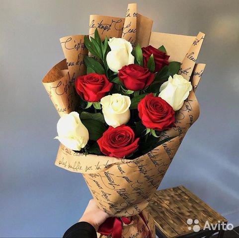 Лучшие букеты из роз на 1 сентября фото (12)