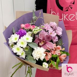 Лучшие букеты из роз на 1 сентября фото (15)