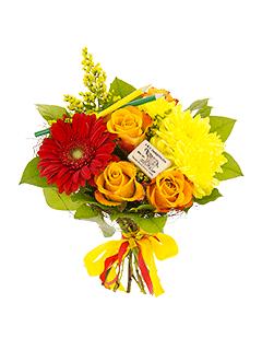 Лучшие букеты из роз на 1 сентября фото (19)