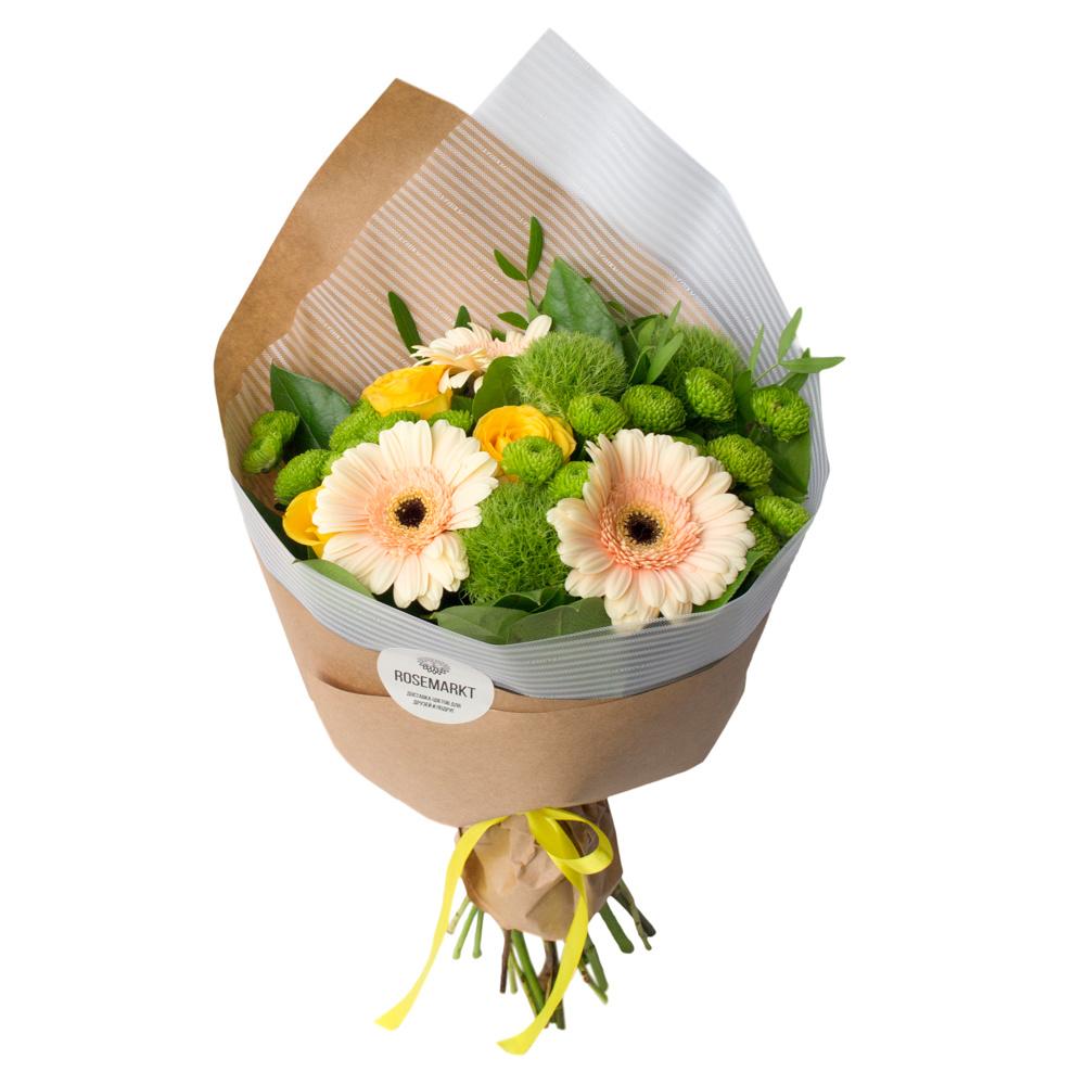 Лучшие букеты из роз на 1 сентября фото (26)