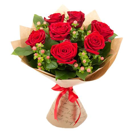 Лучшие букеты из роз на 1 сентября фото (31)