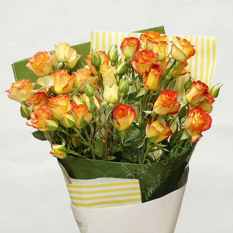Лучшие букеты из роз на 1 сентября фото (32)