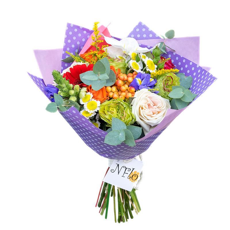 Лучшие букеты из роз на 1 сентября фото (36)