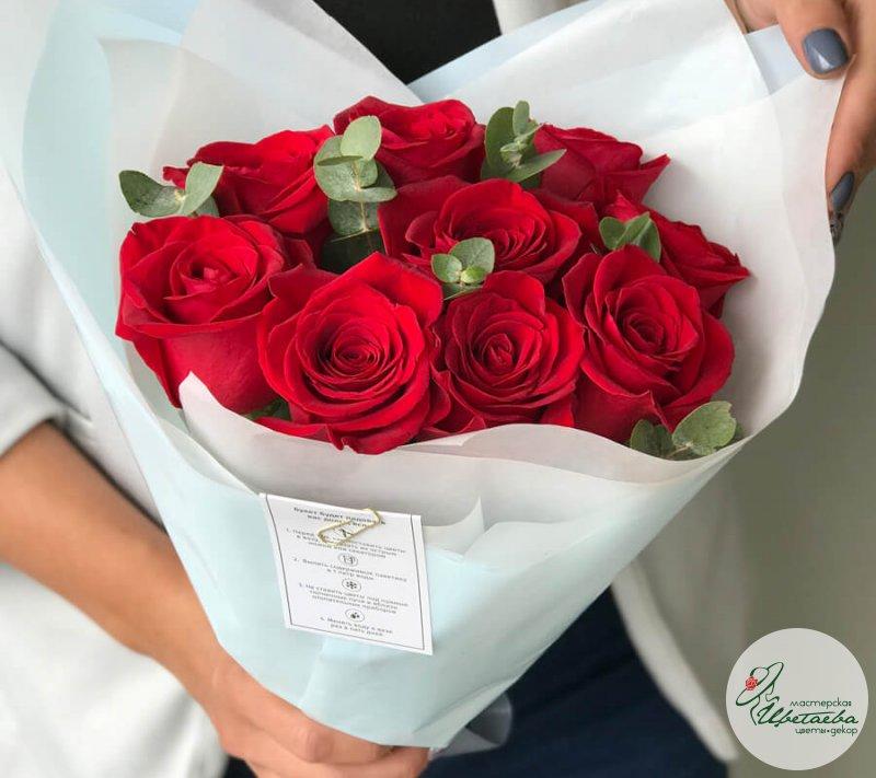 Лучшие букеты из роз на 1 сентября фото (4)