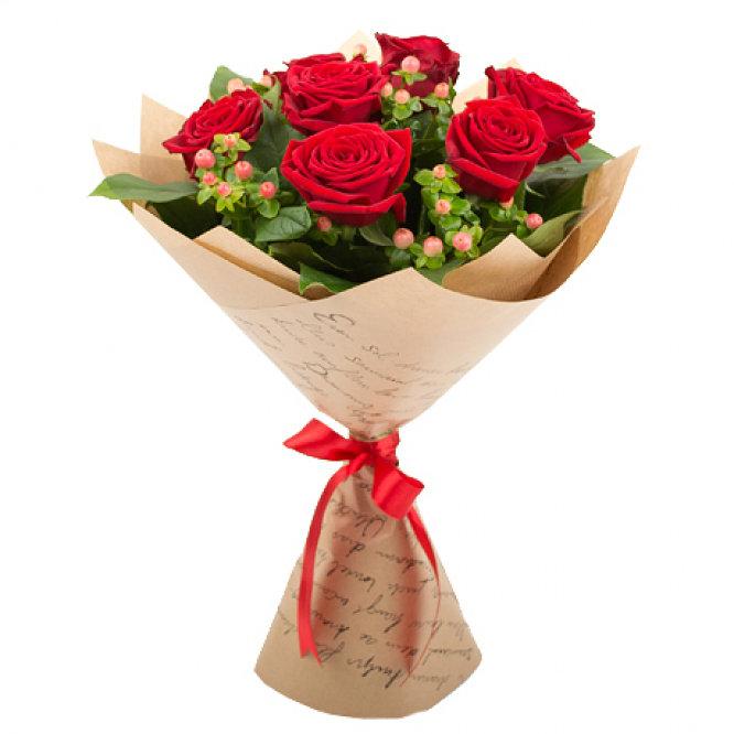 Лучшие букеты из роз на 1 сентября фото (6)