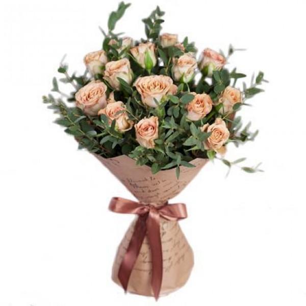 Лучшие букеты из роз на 1 сентября фото (8)