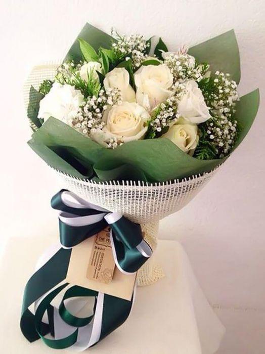 Лучшие букеты из роз на 1 сентября фото (9)