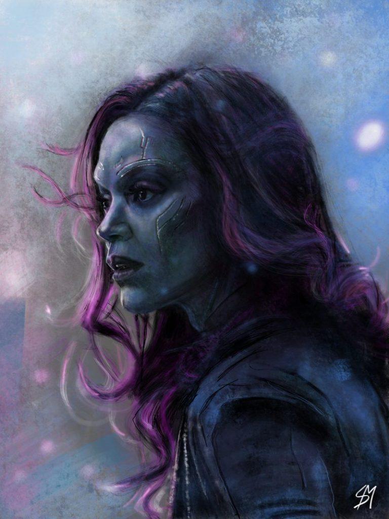Лучшие картинки Гамора из Стражи Галактики (5)