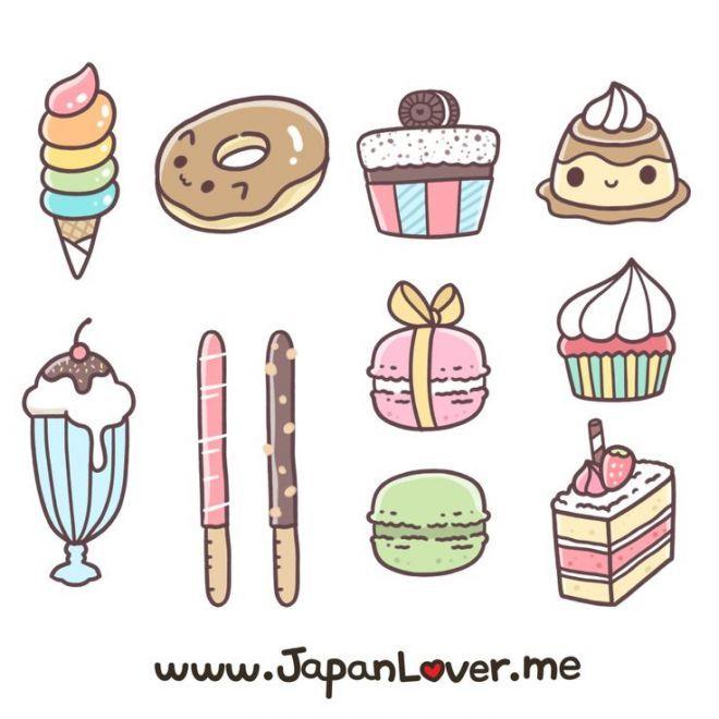 Маленькие картинки для наклеек для срисовки (29)
