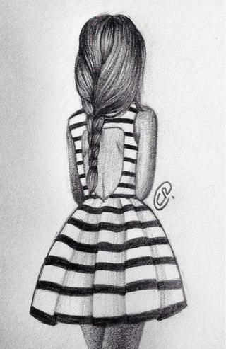 Нарисованные фото для девочек на аву в ВК (27)