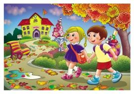 Осень сентябрь картинки для детей - подборка (6)