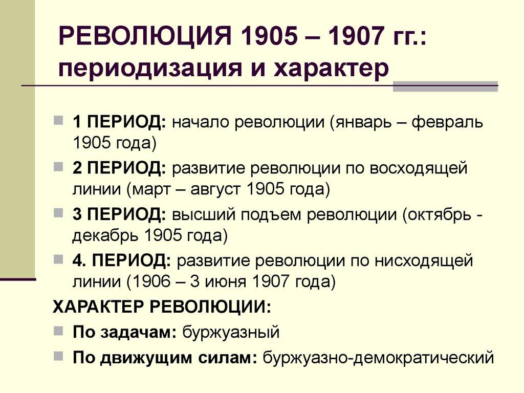 Первая русская революция 1905 1907 гг   причины, ход, итоги (3)