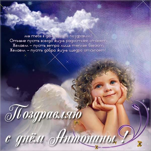 Прикольные картинки на именины Антонины с днём ангела (17)