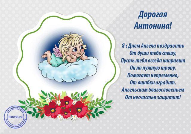 Прикольные картинки на именины Антонины с днём ангела (5)
