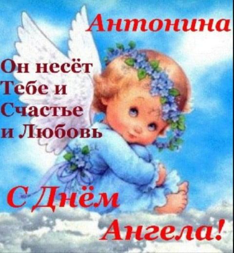 Прикольные картинки на именины Антонины с днём ангела (6)
