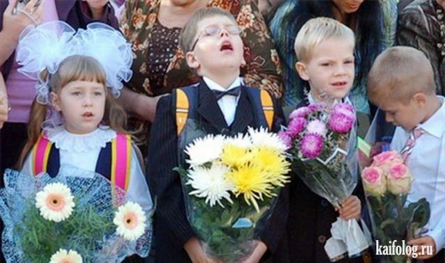 Смешные фото детей на 1 сентября - подборка (16)