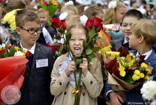 Смешные фото детей на 1 сентября - подборка (19)