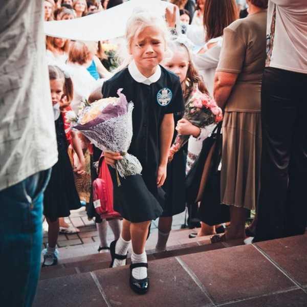 Смешные фото детей на 1 сентября - подборка (5)