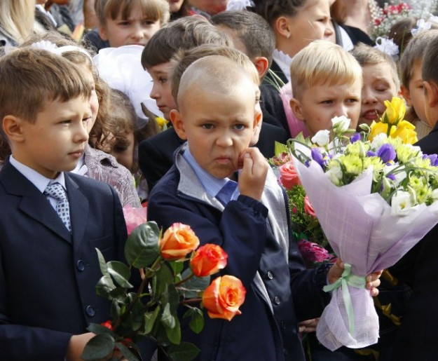 Смешные фото детей на 1 сентября - подборка (6)