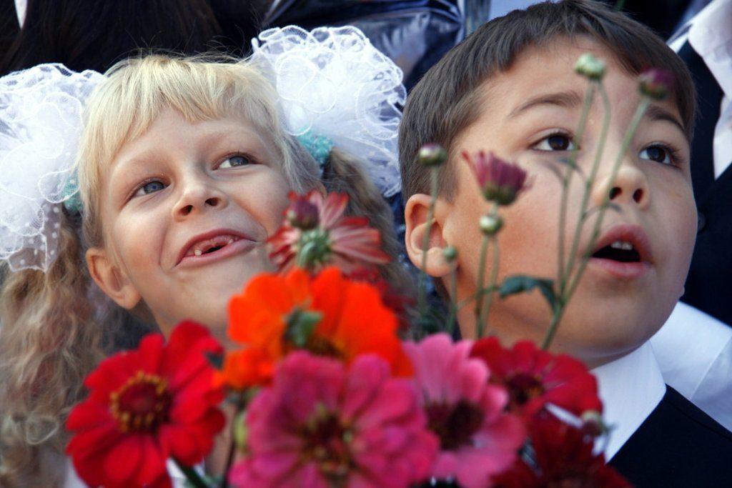 Смешные фото детей на 1 сентября - подборка (7)
