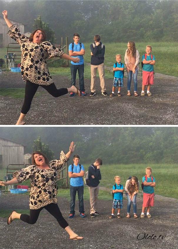 Смешные фото школьников 1 сентября   лучшие фото (13)