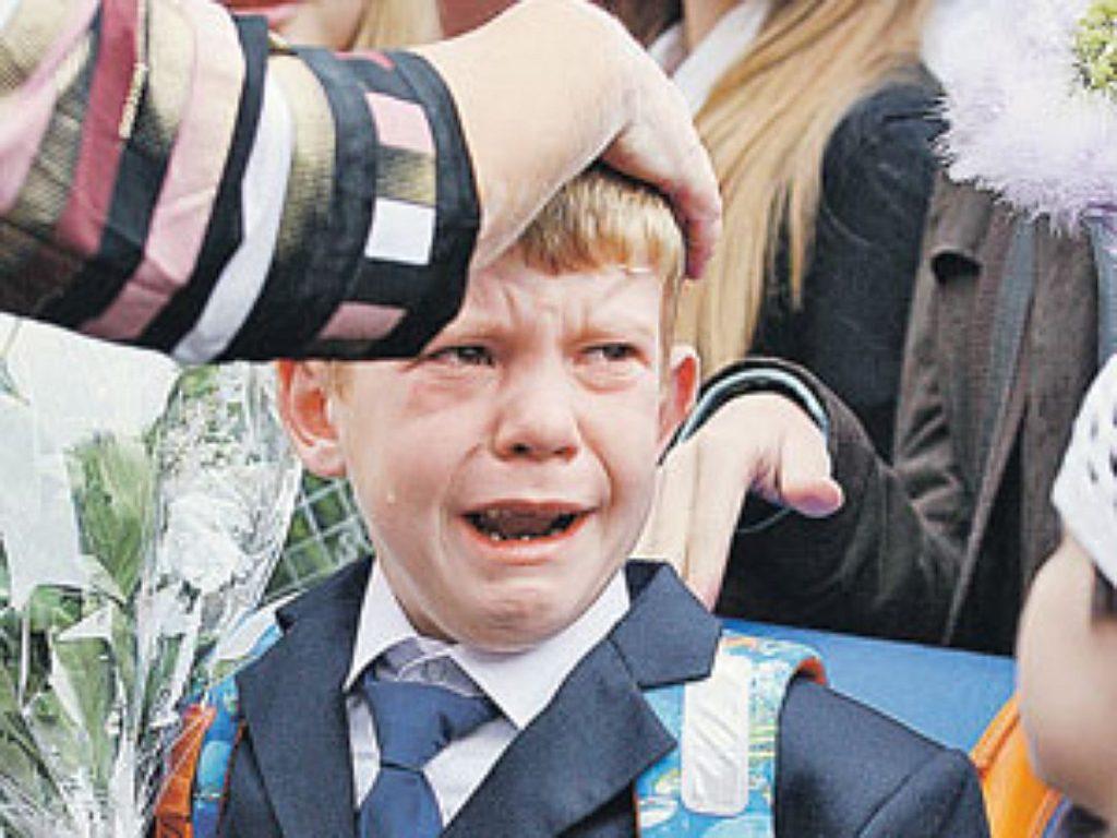 Смешные фото школьников 1 сентября - лучшие фото (15)