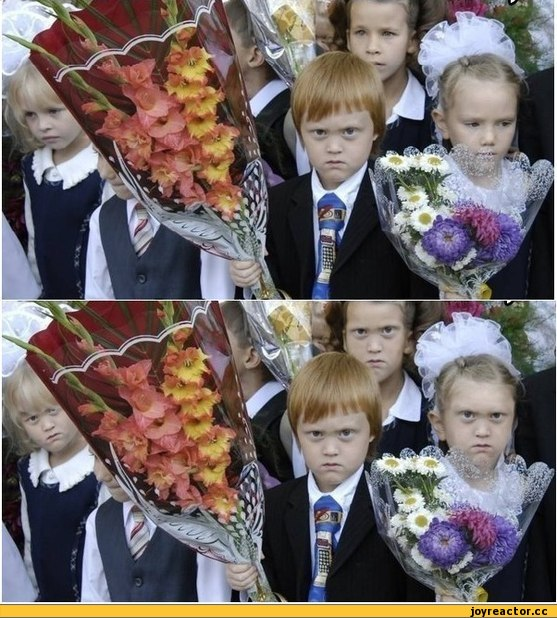 Смешные фото школьников 1 сентября   лучшие фото (16)