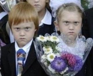 Смешные фото школьников 1 сентября - лучшие фото (2)