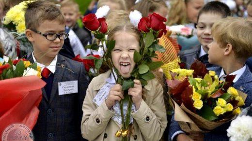 Смешные фото школьников 1 сентября   лучшие фото (3)