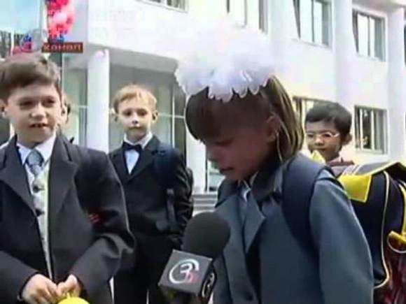 Смешные фото школьников 1 сентября - лучшие фото (5)