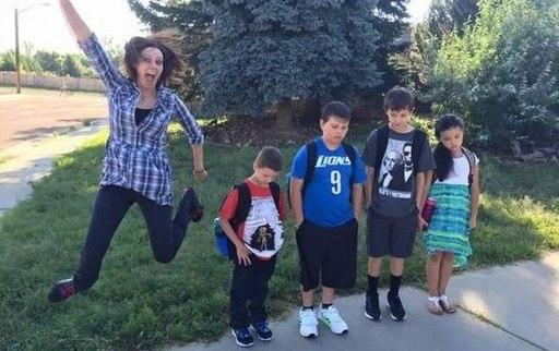 Смешные фото школьников 1 сентября   лучшие фото (7)