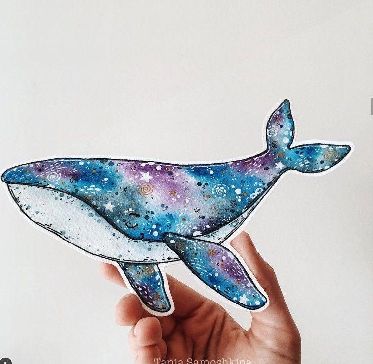 Тумблер картинки для срисовки кит - подборка (17)