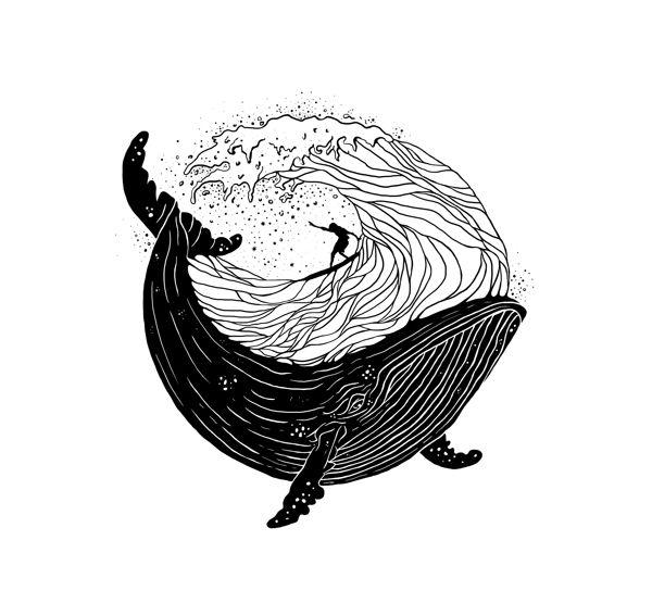 Тумблер картинки для срисовки кит - подборка (2)