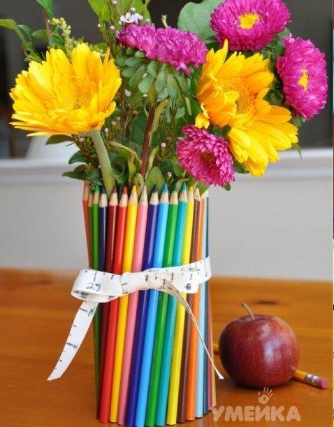 Цветочные композиции к дню учителя   фото (1)