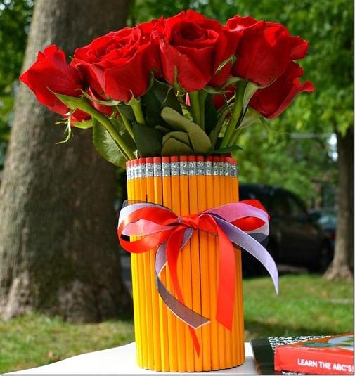 Цветочные композиции к дню учителя   фото (13)