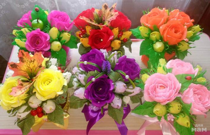 Цветочные композиции к дню учителя   фото (15)