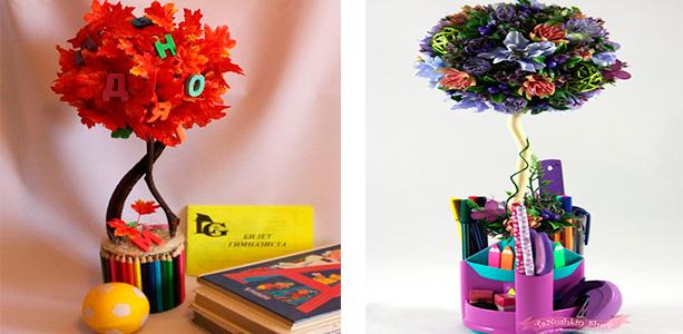 Цветочные композиции к дню учителя   фото (20)