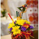 Цветочные композиции к дню учителя — фото
