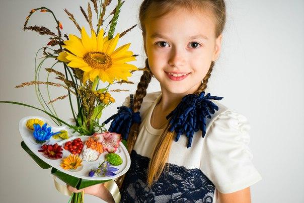 Цветочные композиции к дню учителя   фото (3)