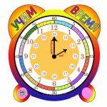 Часы распечатать для обучения — подборка