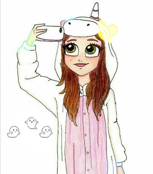Что нарисовать когда нет фантазии для девочек 12 лет (15)