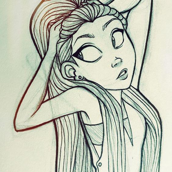 Что нарисовать когда нет фантазии для девочек 12 лет (27)