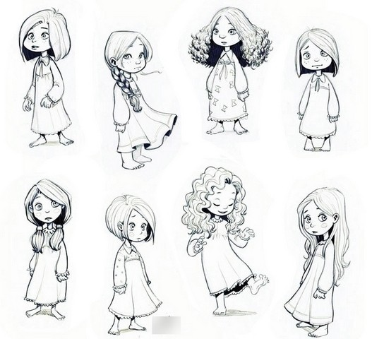 Что нарисовать когда нет фантазии для девочек 12 лет (28)