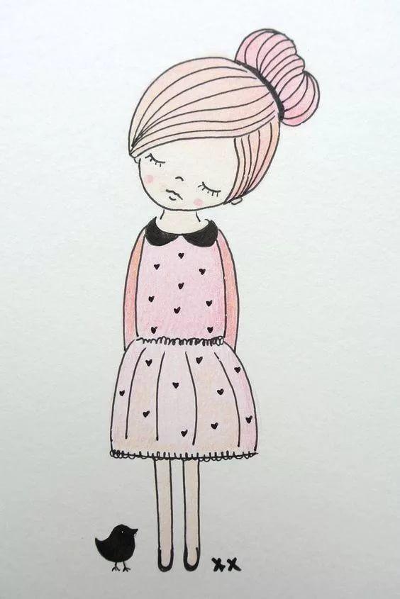 Что нарисовать когда нет фантазии для девочек 12 лет (3)