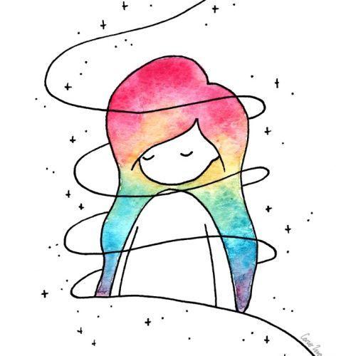 Что нарисовать когда нет фантазии для девочек 13 лет - рисунки (11)