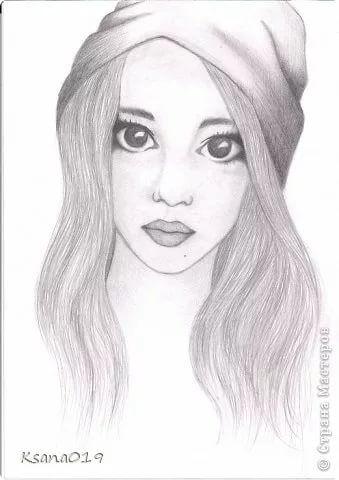 Что нарисовать когда нет фантазии для девочек 13 лет - рисунки (14)