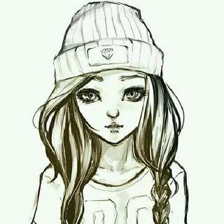 Что нарисовать когда нет фантазии для девочек 13 лет - рисунки (16)
