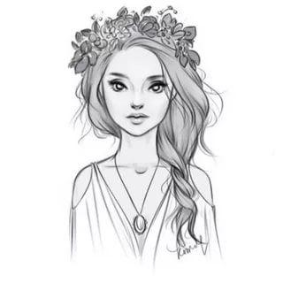 Что нарисовать когда нет фантазии для девочек 13 лет - рисунки (23)